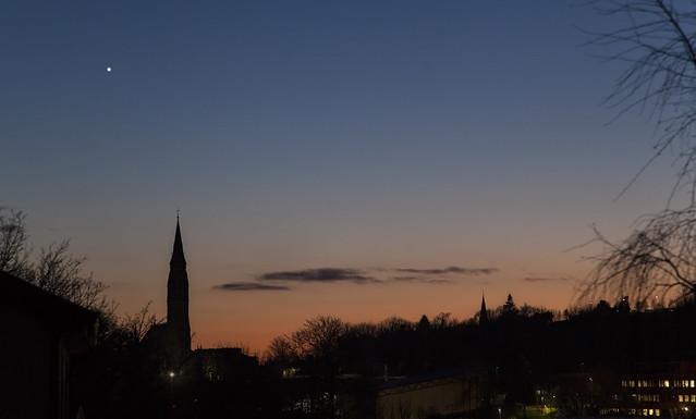Venus at Sunset Jan 09 2020