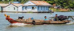 2019 - Vietnam-Avalon-Châu Đốc - 49 - Bassac River Seiner