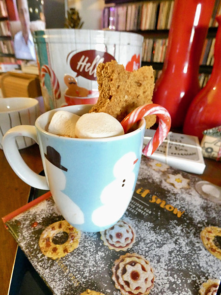 a nice hot chocolate