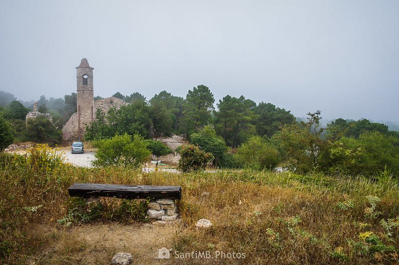 La Mussara desde el camino a Les Airasses