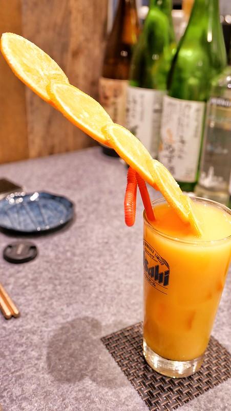 たっぷり生オレンジ 八重洲てん串山本家 12