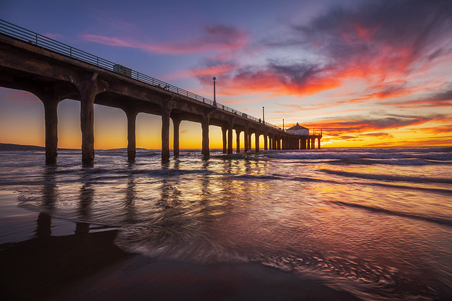MB Pier: Sunset 2020