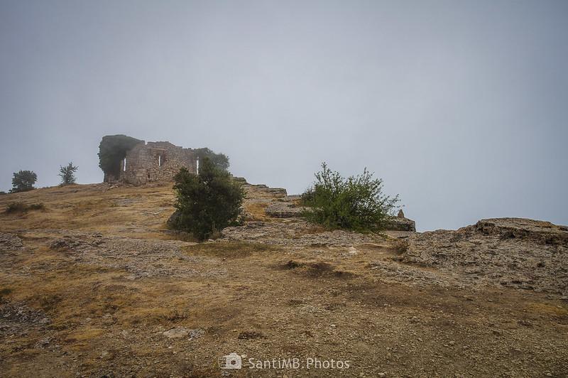 Ruinas del Xalet de les Airasses en la Mussara