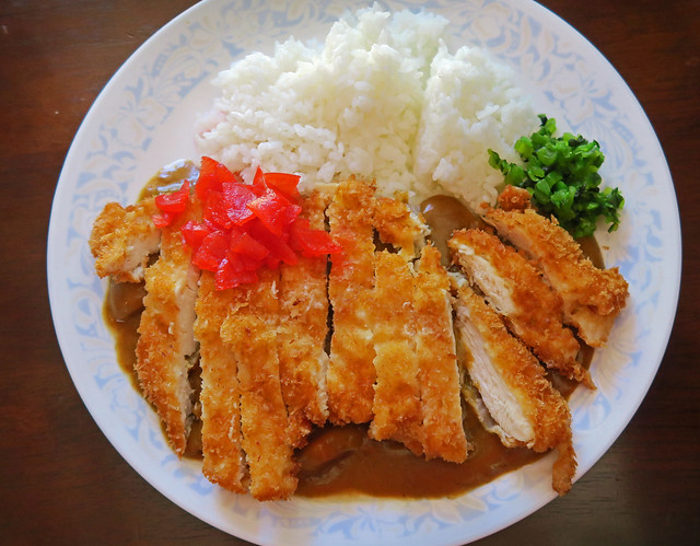 Katsu Curry for Dinner