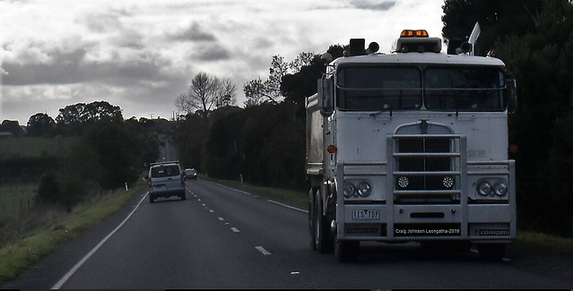 Classic sweethert Kenworth on Bass Hwy Leongatha