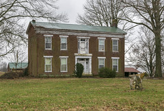 Abandoned House — Millersburg Vicinity, Nicholas County, Kentucky