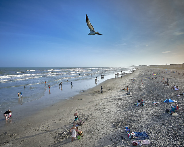Winter at Cocoa Beach