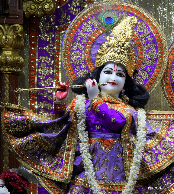 ISKCON Juhu Mangal Deity Darshan on 13th Jan 2020