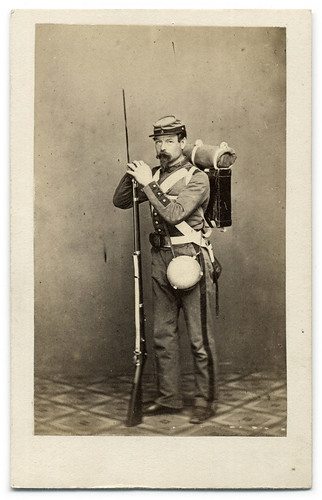Member of the Regiment That Saved the Capital