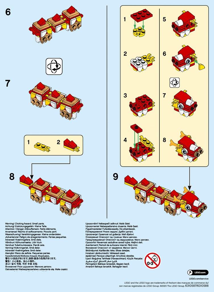 LEGO MMB Lunar New-Year Dragon