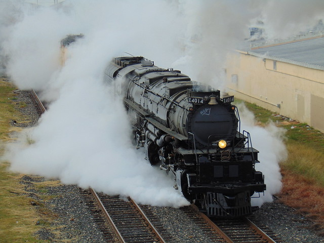 UP 4014 Departs San Antonio, Texas