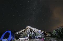 Una Noche En cayo Tuna(Parque Nacional de Monte Cristi)