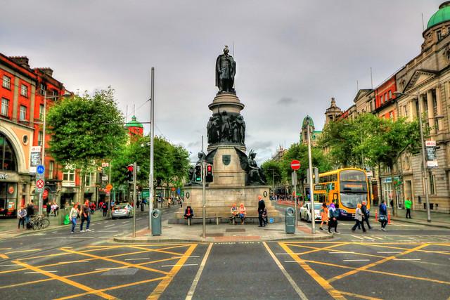 Dublin IR - O'Connell Monument
