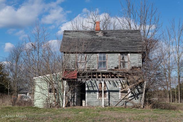 Abandoned house, (Caroline County) Maryland Eastern Shore