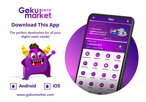 GokuMarket's coolest mobile app for all Android & iOS devices!