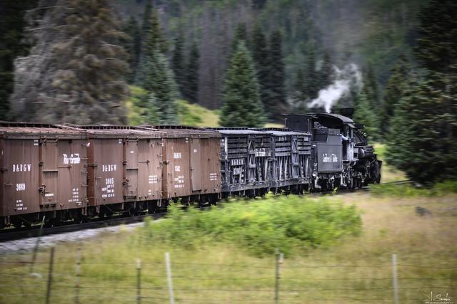 Cumbres & Toltec Scenic Railroad - Colorado - USA