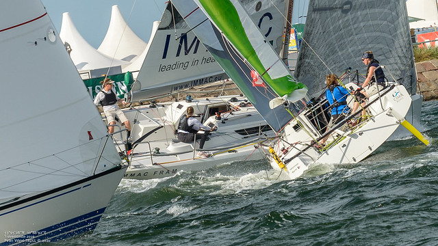 Doppelte Frauenpower   1.Double Handed Offshore (Int. German Champ.)-3987A