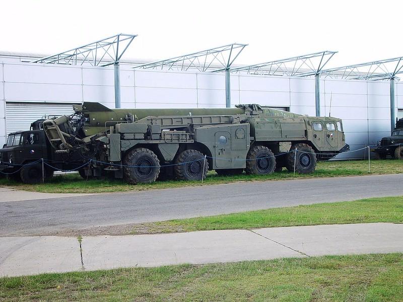 MAZ-543 Scud Missile 1
