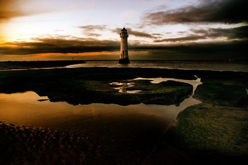 england newbrighton britain clouds europe lighthouse outdoor perchrock sky wintersolstice wirral ©2019tonysherratt 20191221165432 sunset