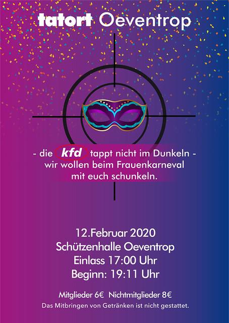 kfd 2020 Plakat Karneval