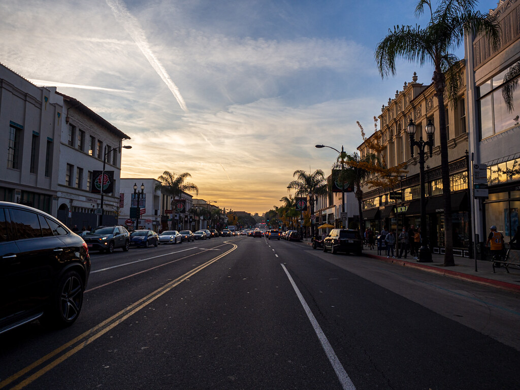 On the streets of Pasadena, CA