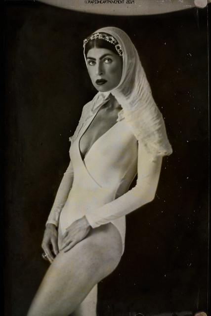 PRELUDE: a 52 Week Self-portrait Project│ Self-portrait In White (3/52)
