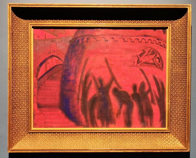 Nicolái Roerich en busca de Shambhala Sombras 1916 Museo Ruso de Málaga