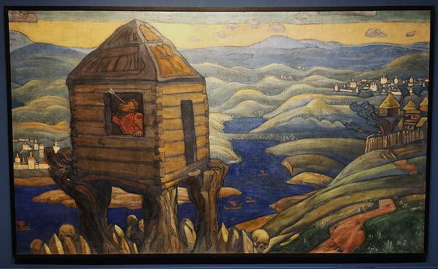 Nicolái Roerich en busca de Shambhala ruiseñor bandolero 1910 Museo Ruso de Málaga