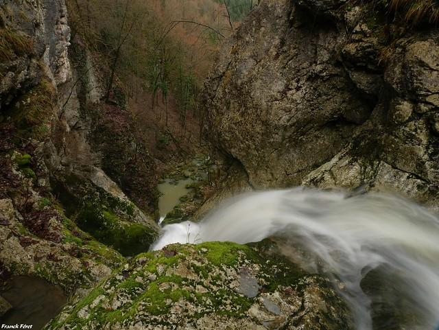 au dessus la cascade du pont du diable - Crouzet Migette