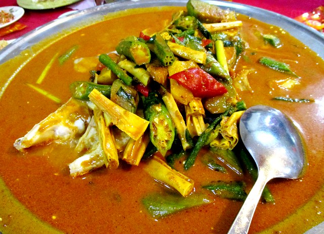 Curry fish
