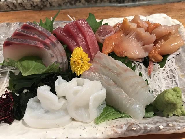 Chef's special sashimi @Gohei restaurant, Tokyo