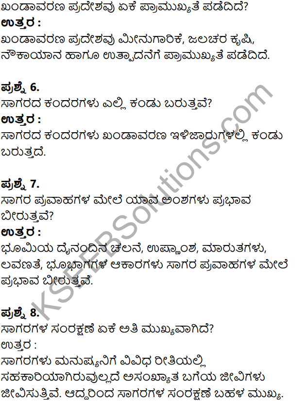 KSEEB Solutions for Class 8 Geography Chapter 4 Jalagola in Kannda 15