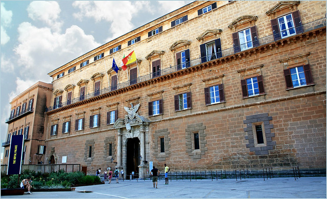 Palais des Normands, Palerme, Sicile, Italie