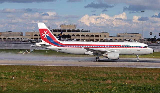 9H-AEI LMML 12-01-2020 Air Malta Airbus A320-214 CN 2189