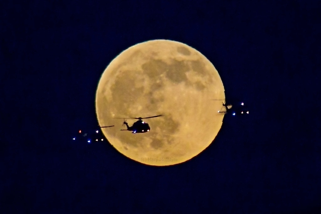 Airwolf Moon! 10/01/2020