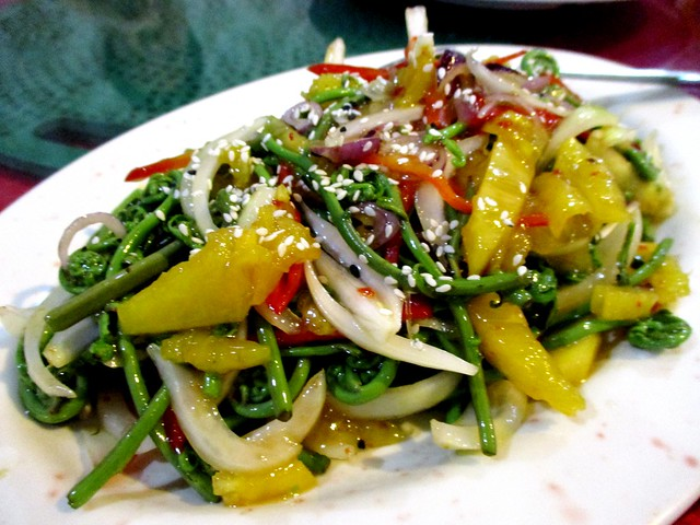 Thai-style midin