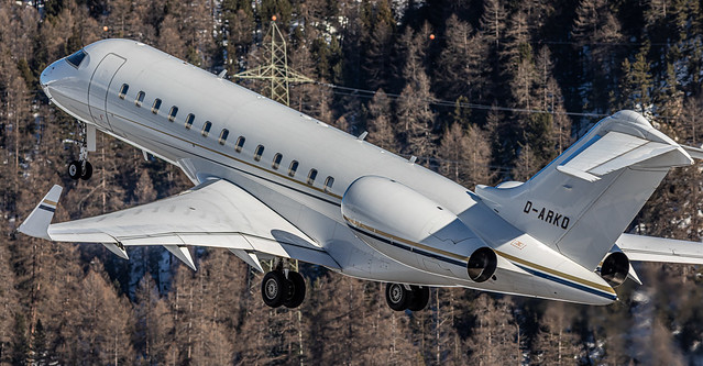 SMV LSZS / K5Aviation / Bombardier BD-700-1A10 Global Express XRS / D-ARKO