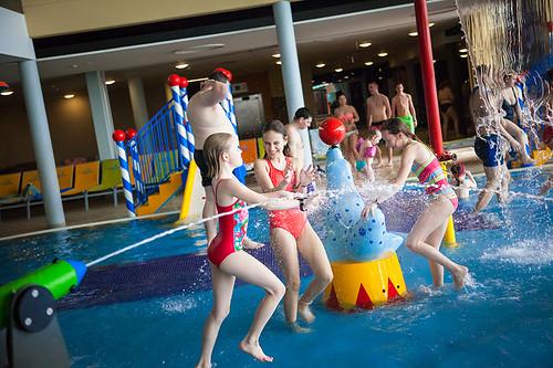 Celodenní vstupenka do Aqualandu Moravia včetně vstupu do SPA Forum Romanum Wellness s 55 % slevou
