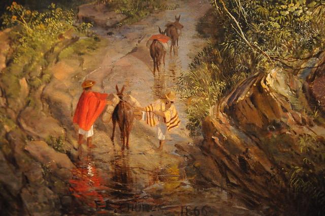 Rainy Season in the Tropics - Frederic Edwin Church 1866