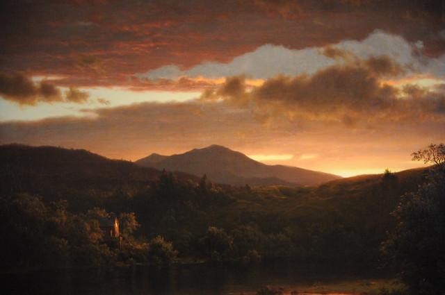Twilight - Frederic Edwin Church 1858 - de Young Museum