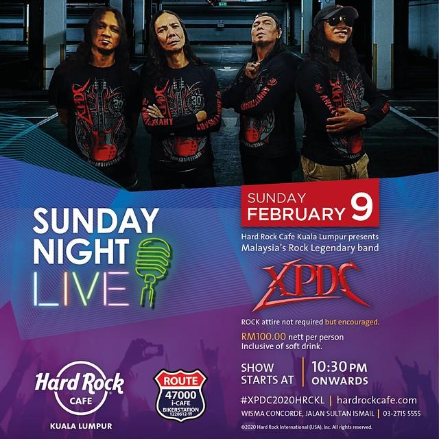 XPDC 2020 Hard Rock Cafe