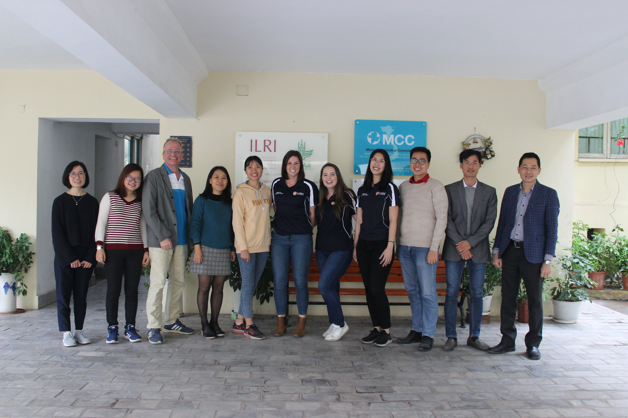 Internship by students from University of Sydney, 2-21 December 2019