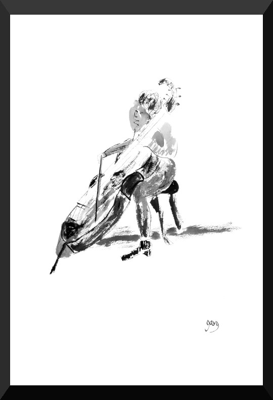 contrabass pen and ink 57 x 77 mall