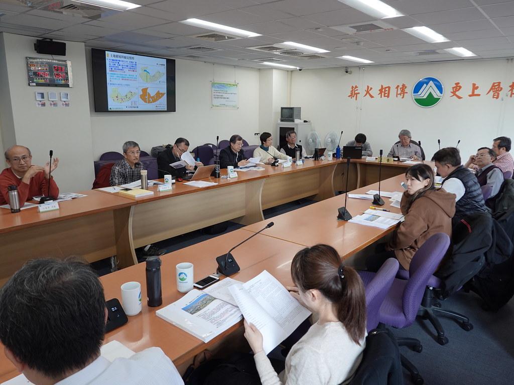 環保署今(13)進行大里夏田產業園區二階環評範疇界定會議。孫文臨攝