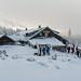 Chata Švýcárna je mezi běžkaři oblíbená, foto: Jan Hocek