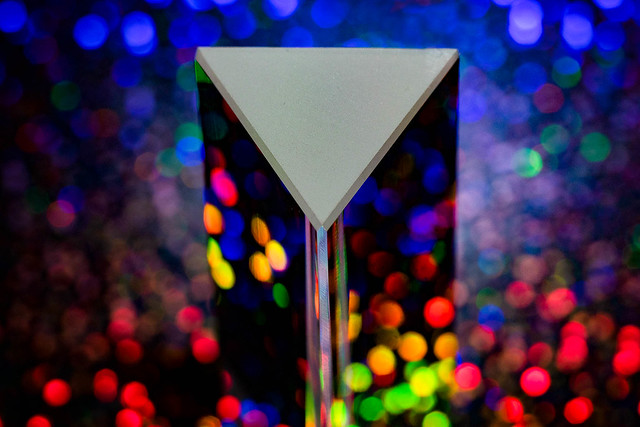 MM - Triangle - Glass Prism