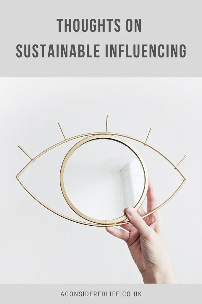 Sustainable Influencing