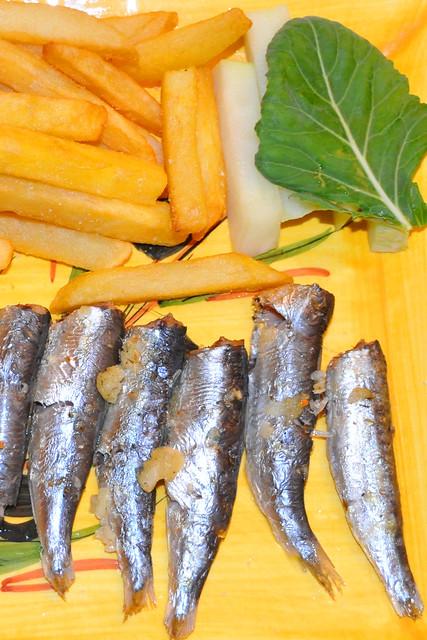 Januar 2020 ... Sardinen, Pommes frites, Kohlrabi ... Brigitte Stolle