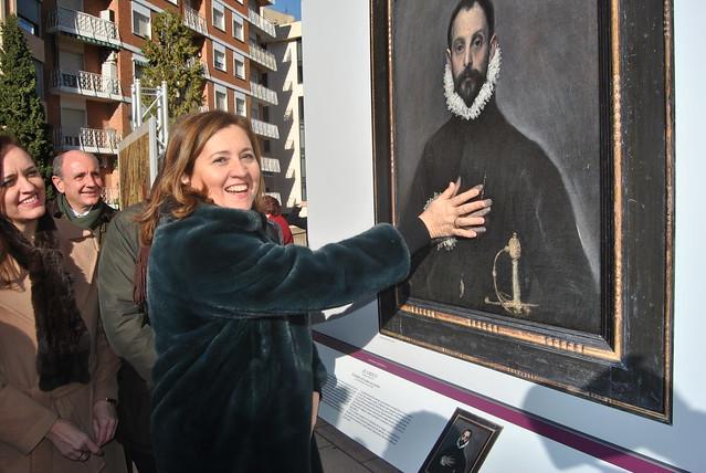 Inauguración de la exposición 'El Prado en las calles' en Albacete