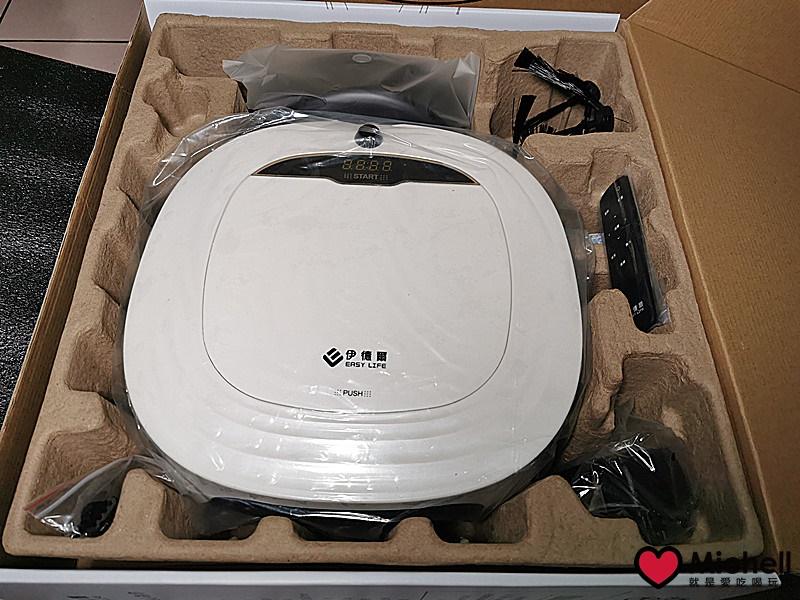 伊德爾EL19007智能型掃地機器人